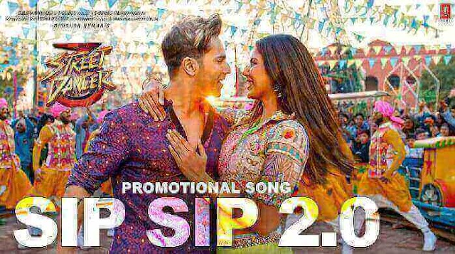 सिप सिप Sip Sip 2.0 Lyrics in Hindi | Street Dancer 3D | Garry Sandhu