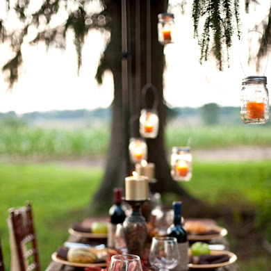 Thanksgiving DIY Tablescape a Dinner Party Ideas