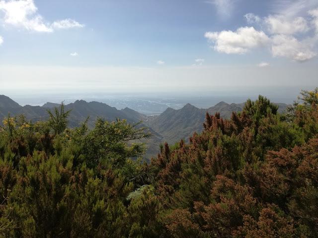 Anaga, Tenerife, Sendero de los sentidos, Muelle de Santa Cruz