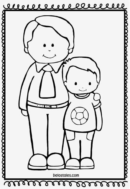 13 15 Atividades Dia dos pais para colorir