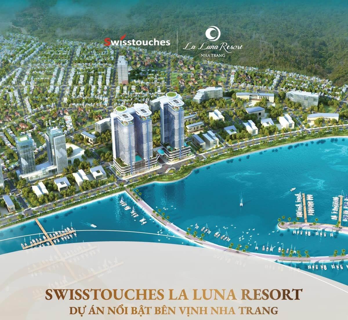 Swisstouches La Luna Resort - dự án nổi bật bên vịnh Nha Trang