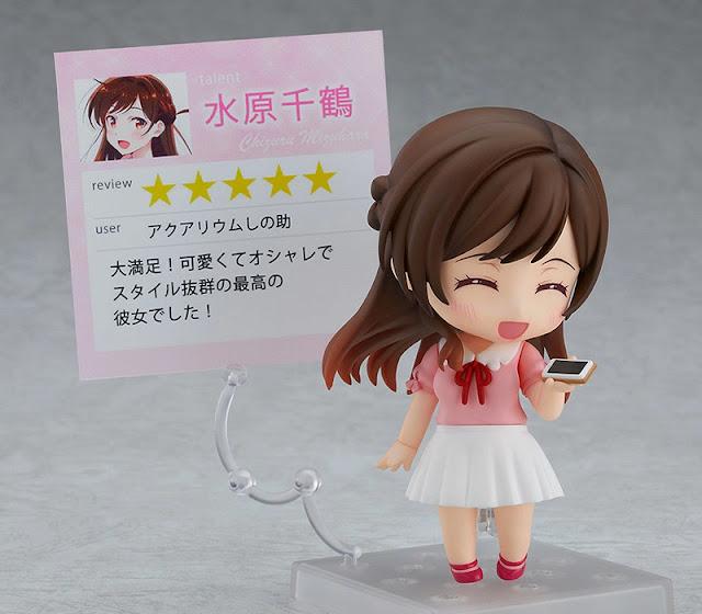 Figuras: Nendoroid Chizuru Mizuhara de Rent-A-Girlfriend, Good Smile Company