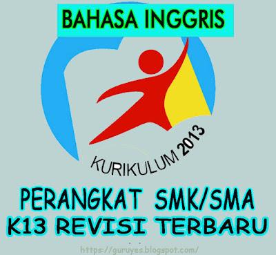RPP SMA/SMK Bahasa Inggris kelas 10  Kurikulum 2013 Revisi 2018