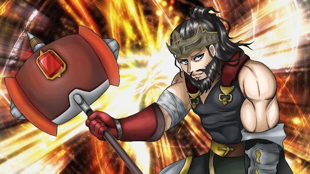Hephaestus (free anime images)