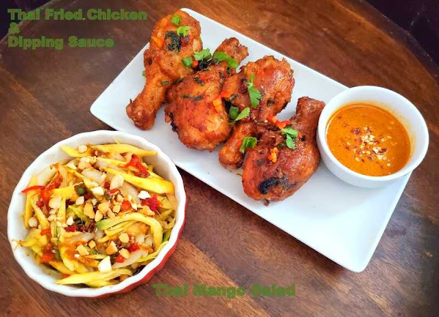 images of Thai Fried Chicken / Fried Chicken / Crisp and Juicy Thai Fried Chicken Recipe - Thai Recipes