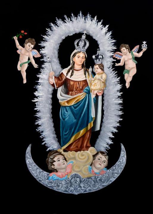 Cartel Día de la Virgen Del Socorro 2021 Reina de Tocon (Granada)