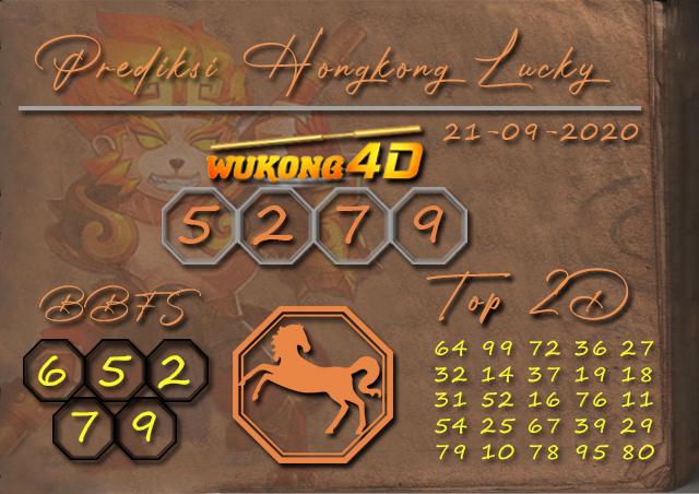 Prediksi Togel HONGKONG LUCKY 7 WUKONG4D 21 SEPTEMBER 2020