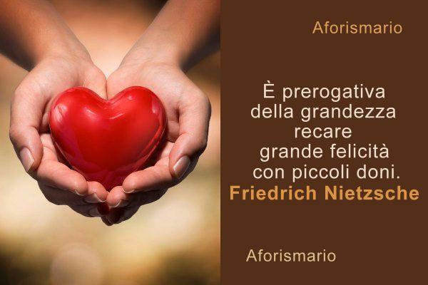 Conosciuto Aforismario®: Dono - Aforismi, frasi e proverbi sul Donare PW98