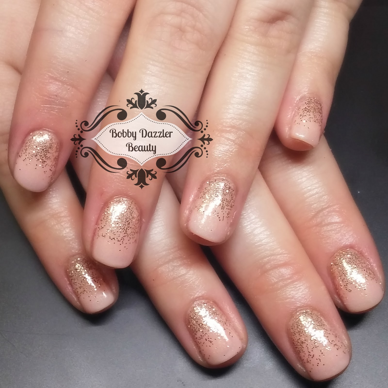 Bobby Dazzler: From Short to Long - A Hard Gel Nail Growing Journey.