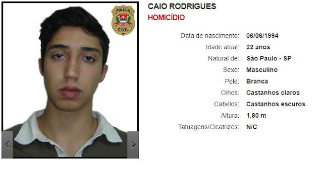 Caio Rodrigues - Homicídio