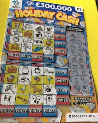 £3 Holiday Cash Losing Card