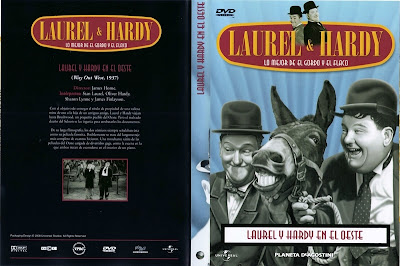 Cover, carátula, dvd: El Gordo y el Flaco en el Oeste | 1927 | Laurel & Hardy: Way Out West