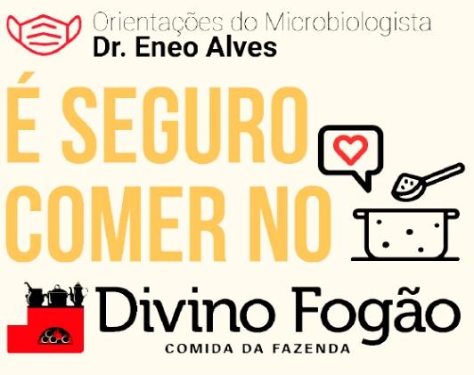 """Rede lança campanha """"É seguro comer no Divino Fogão"""""""