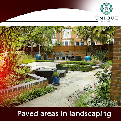 paved areas
