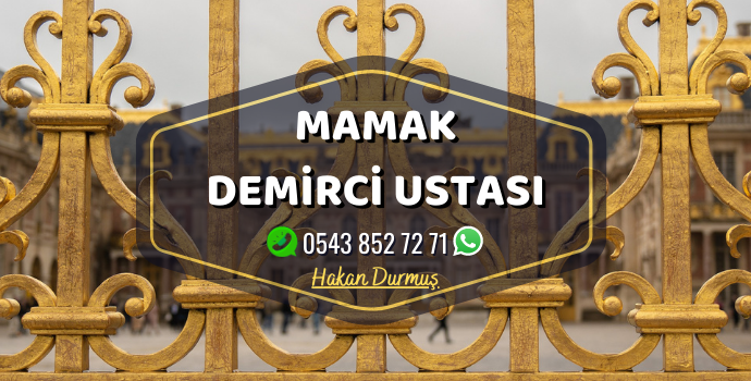 Ankara Mamakda Hizmet Veren Demirci Ustası