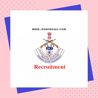 Ordnance Factory Trichy Walk-IN 25th September 2019 for Apprentice (86 Vacancies)