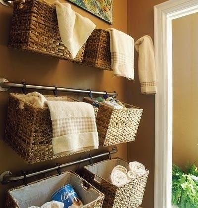 Rieles para las toallas