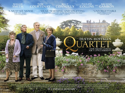 Quartet movie, Maggie Smith, Dustin Hoffman