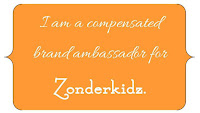 I am a compensated brand ambassador for Zonderkidz.