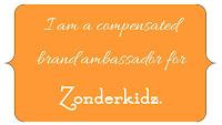 I am a compensated brand ambassador for Zonderkidz.