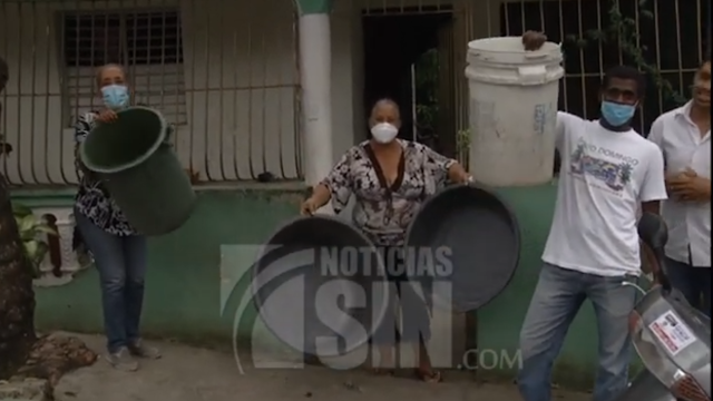 Sector de Los Alcarrizos lleva más de cuatro años sin servicio regular de agua potable