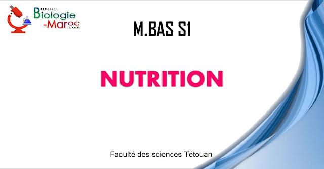 Master Biotechnologie, Alimentation et Santé ¦ Master Biotechnologie, Alimentation et Santé ¦ Nutrition