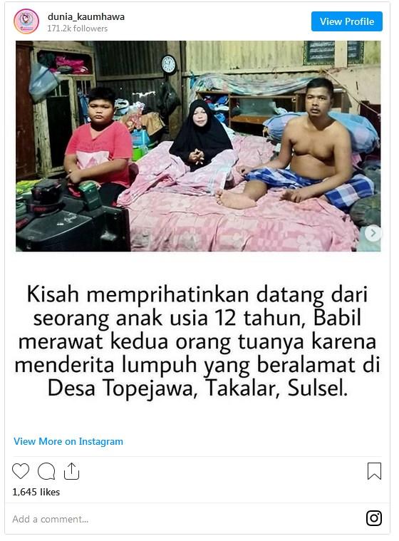 http://www.inivirals.xyz/2020/06/kisah-haru-bocah-12-tahun-rawat.html
