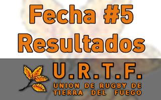 [URTF] Resultados: 1ra División - Fecha #5 (Postergada)