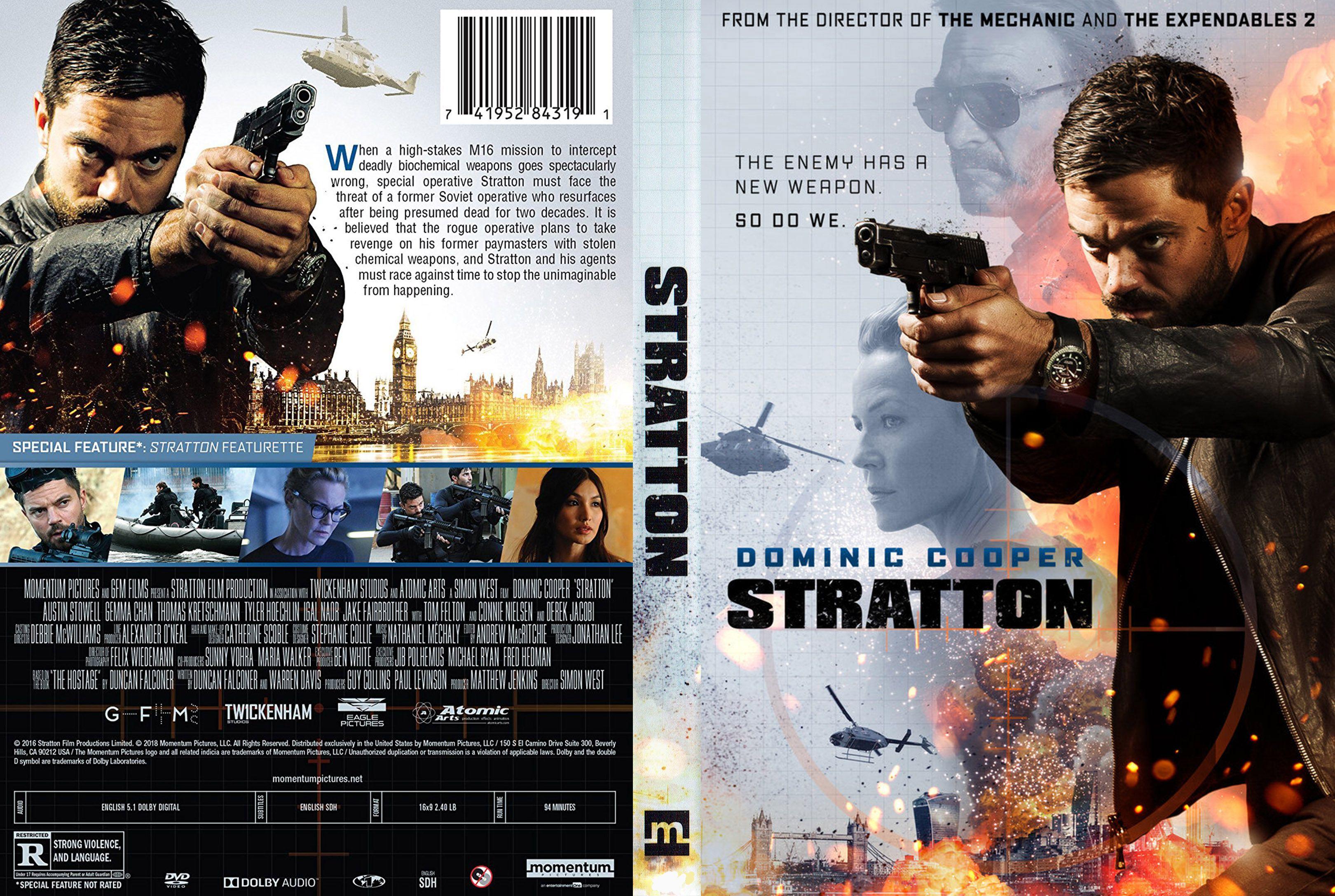 stratton dvd cover - cover addict