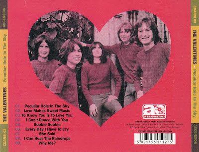 The Valentines (Peculiar Hole in the Sky) 1967-68