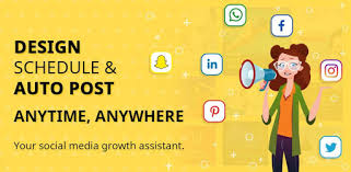 تحميل تطبيق Social Media Post Maker, Planner & Graphic Design v28.0 (Pro) Apk
