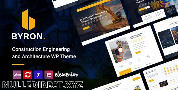 Byron V 1.4 Construction and Engineering WordPress Nulled Theme