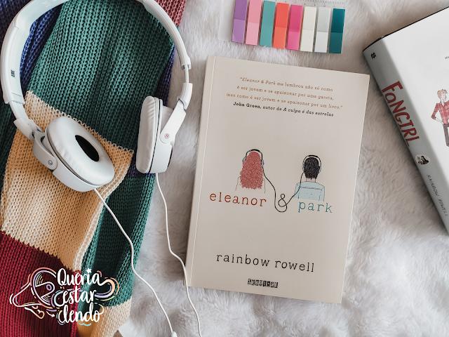 Li até a página 100 e #111 - Eleanor & Park