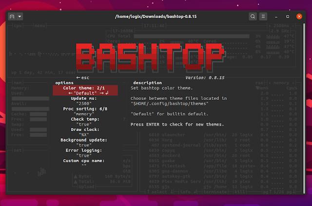 Bashtop config