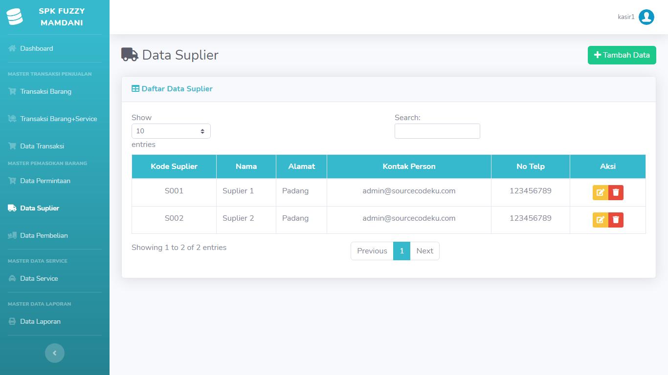 Aplikasi Sistem Pendukung Keputusan Penentuan Besaran Gaji Pegawai Menggunakan Metode Fuzzy Mamdani - SourceCodeKu.com