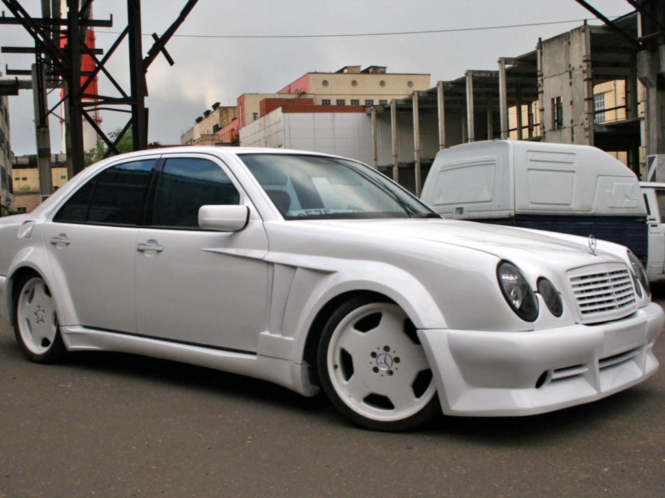 Mercedes W210 E55 Amg Custom Widebody Benztuning