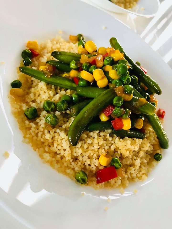 Przepisy Kulinarne Szybki Kuskus Po Wegetariansku Zdrowy Obiad W