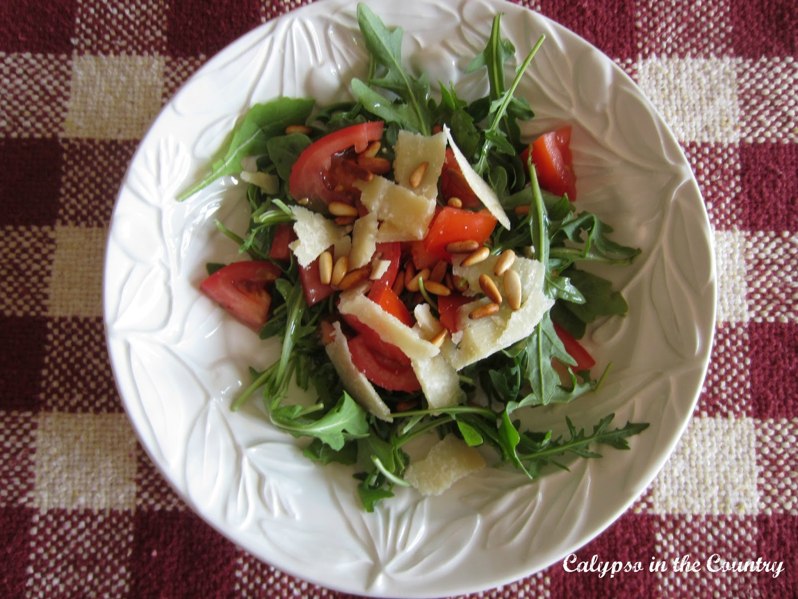 Arugula Salad with Parmesan