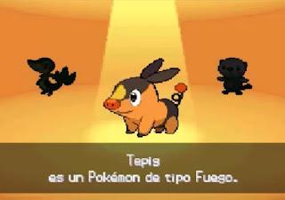 Pokemon Negro Absoluto para NDS Iniciales Starters Pokemon