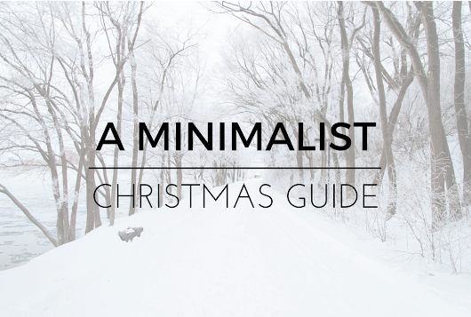A minimalist gift guide