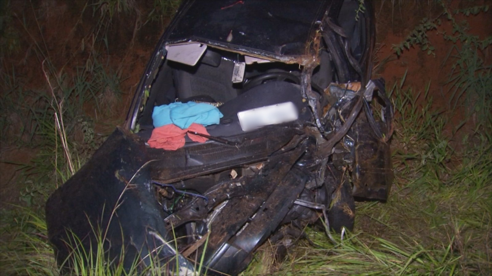 Morre terceira vítima de acidente com três carros em rodovia de Olímpia