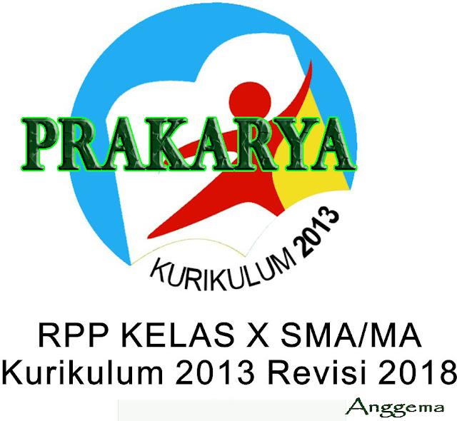 RPP Kurikulum 2013 Prakarya Kelas 11 SMA/SMK Revisi 2018