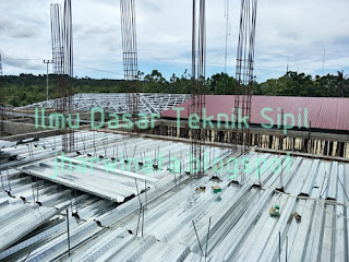 Plat Beton Menggunakan Bondek dan Wiremesh