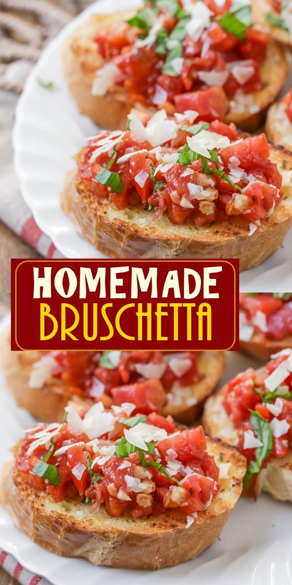 Bruschetta Recipe #appetizerrecipes