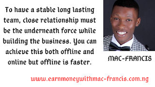 ONLINE OR OFFLINE; WHAT IS THE BEST APPROACH IN BUILDING A STABLE NETWORK MARKETING TEAM.