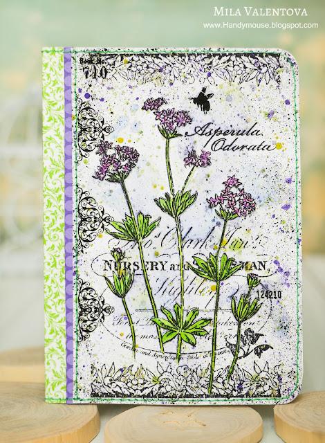 Открытка-обложка-на-паспорт-лесные-травы-Мила_Валентова.