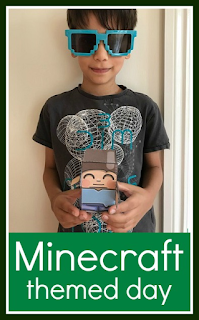 Holding a Minecraft themed day