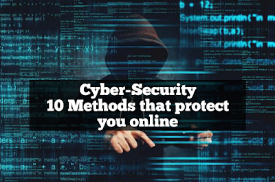 Cybersecurity: 10 methods that protect You Online for both tech-savvy and less tech-savvy users.