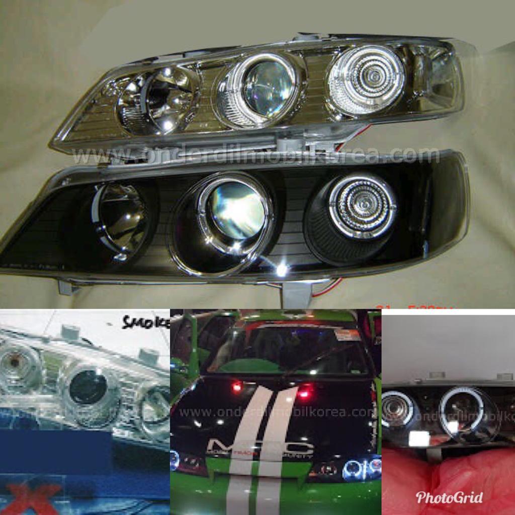 lampu projector grand new veloz tanduk depan head lamp timor onderdil mobil korea