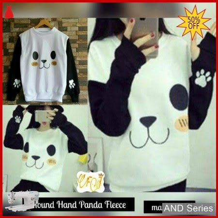 AND082 Sweater Wanita Roundhand Panda Murah BMGShop